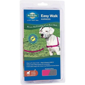 Radio Systems Corporation Pet Safe 759023095042 Easy Walk Harness- Sm-Md Raspberry