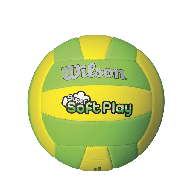 Wilson Super Soft Volleyball - Yellow/Green