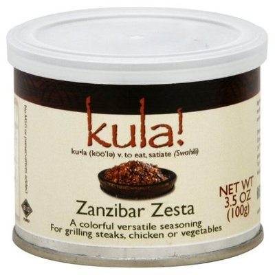 Kula African Spices Spice, Znazibar Zest, 3.5-Ounce (Pack of 3)
