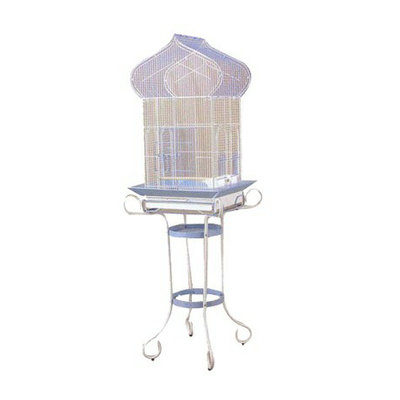 Prevue Pet Products Cockatiel Bird Cage with Stand Blue & White
