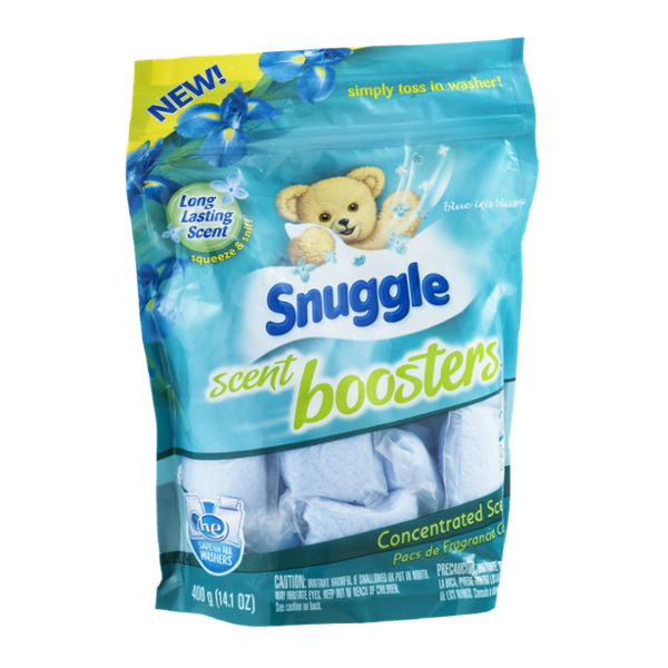 Snuggle Scent Boosters Blue Iris Bliss - 20 CT