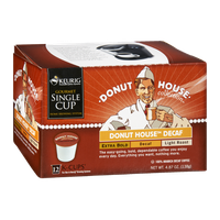 Donut House Collection Keurig Donut House Decaf Extra Bold, Decaf, Light Roast K-Cups - 12 PK