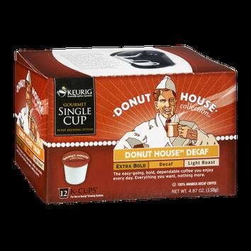 Donut House Collection Keurig Donut House Decaf Extra Bold, Decaf, Light Roast K-Cups - 12 PK