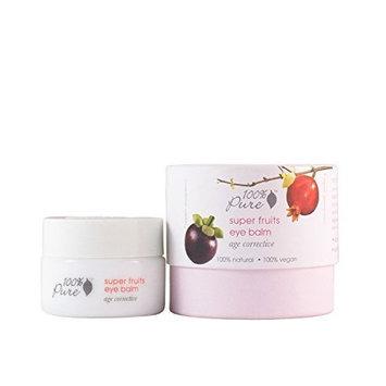 100% Pure Super Fruits Eye Balm, 0.35 Ounce