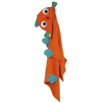 Zoocchini 11113 Sushi the Tropical Fish Hooded Towel - 50 x 22 in.