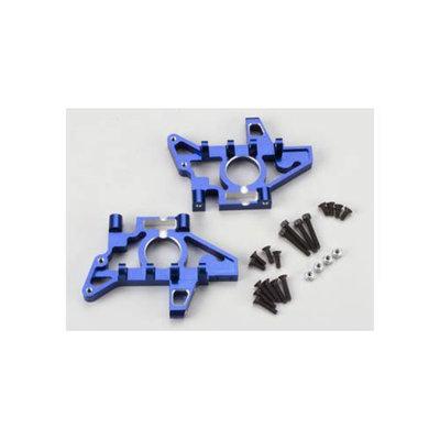 TRAXXAS 4929X Alum Bulkheads Blue T-Maxx