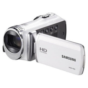 Samsung HD 52x Optical Zoom Camcorder in White