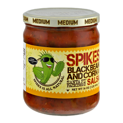 Spikes' Blackbean and Corn Medium Salsa