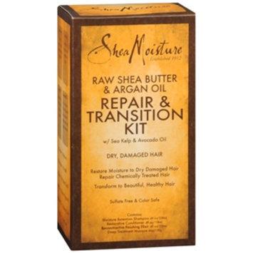 SheaMoisture Raw Shea Butter & Argan Oil Repair & Transition Kit