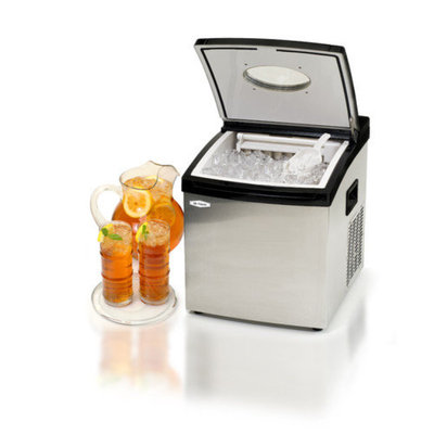 Elite by Maxi-Matic Mr. Freeze Portable Clear Ice Maker