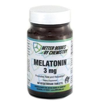 Better Bodies By Chemistry Better Bodies Melatonin Vegetarian Tablets, 60 Count