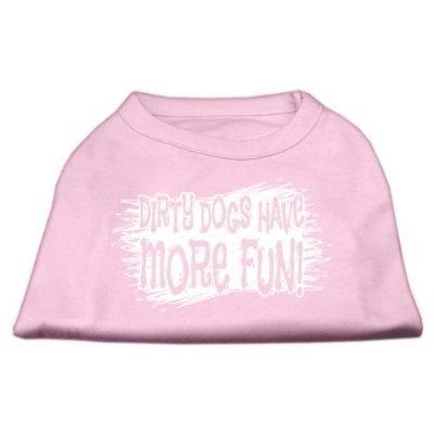 Ahi Dirty Dogs Screen Print Shirt Light Pink XS (8)