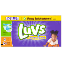 Luvs Diapers Big Pack - Size 3 (104 Count)