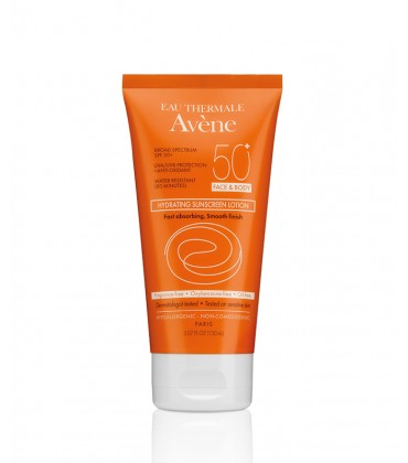 Avène Hydrating Sunscreen Lotion SPF 50+ (Face & Body)