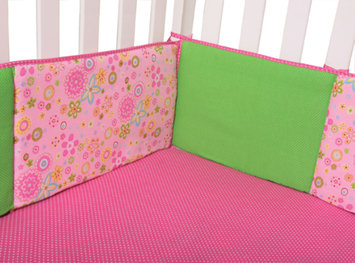 Trend Lab Llc Trend Lab Sherbet - Crib Bumpers Multi-color