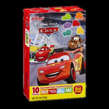 Kellogg's Disney Pixar Cars Assorted Fruit Flavored Snacks - 10 CT