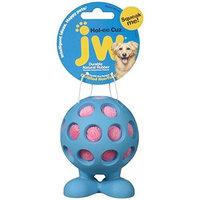JW Pet Company Hol-Ee Cuz Medium Dog Toy, Colors Vary