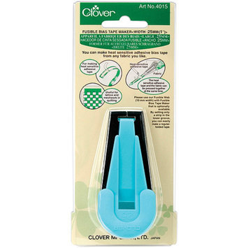 Clover A Light Blue Fusible Bias Tape Maker (25mm)