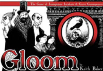 Atlas Games Gloom The Game of Inauspicious Incidents and Grave Consequences