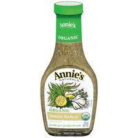 Annie's Naturals Dressing, Organic Green Garlic, 8 FL OZ (Pack of 6)