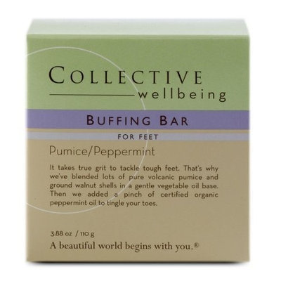 Collective Wellbeing Buffing Bar For Feet - 3.88oz