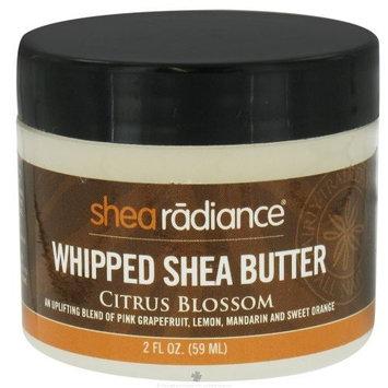 Whipped Shea Butter, Citrus Blossom, 2 fl oz (59 ml) by Shea Radiance ( Multi-Pack)
