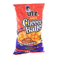 Utz Cheese Balls Baked