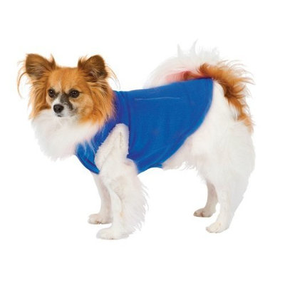 Fashion Pet Blue Dog Polar Fleece Vest Large