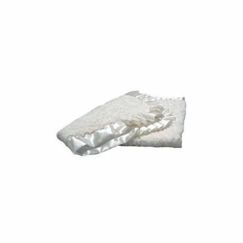 Cream Faux Mink Baby Blanket by Pickles - 82000