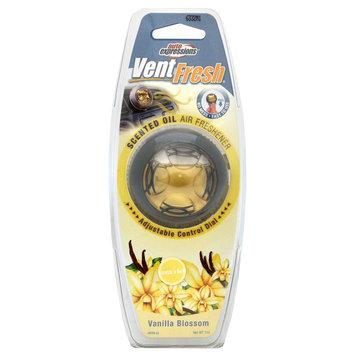 Auto Expressions VNTFR-33 Vent Fresh Air Freshener, Vanilla (4 Pack)