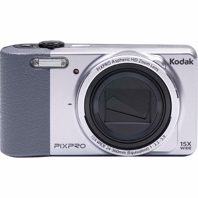 David Shaw Silverware Na Ltd Kodak Silver FZ151 Digital Camera with 16 Megapixels and 15x Optical Zoom