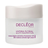 Decleor HYDRA FLORAL MULTI-PROTECTION 24HR Moisture Activator Light Cream, 1.7 oz
