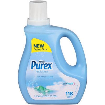 Purex Ultra Mountain Breeze Liquid Fabric Softener, 100 fl oz