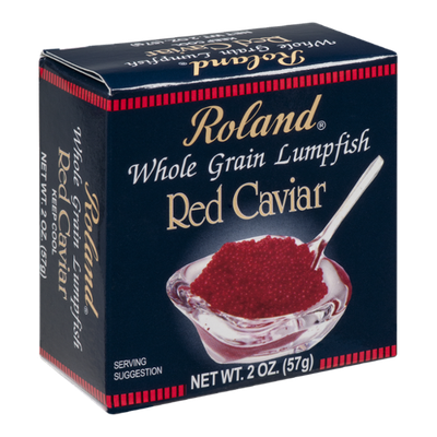 Roland Whole Grain Lumpfish Red Caviar
