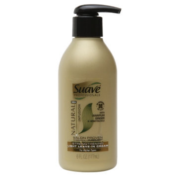 Suave Natural Infusion Strengthening Light Leave-in Cream - 6.0 fl oz