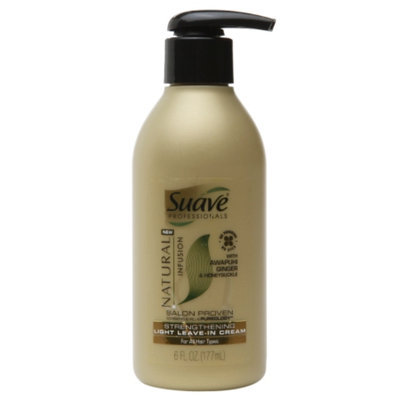 Suave® Natural Infusion Strengthening Light Leave-in Cream