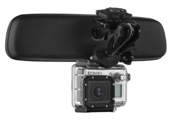 The Package Group Llc Mirror Mount Go Pro Camera Bracket - GoPro Hero Hero3 Hero4