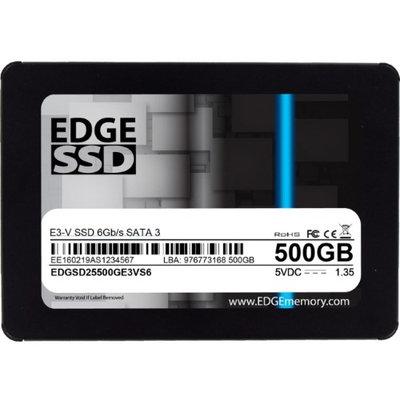 Edge Memory 500GB 2.5 E3-V SATA SSD 6GB/S