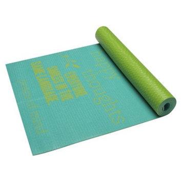 Gaiam Yoga Be Inspired 4mm Yoga Mat