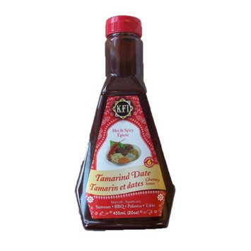 KFI Tamarind Date Hot and Spicy Sauce 15.4Fl oz