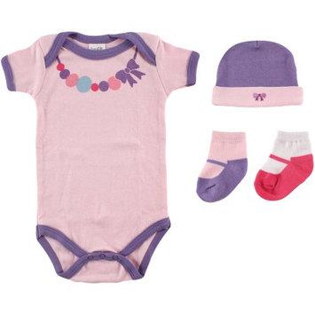 Baby Vision Luvable Friends Newborn Girls' Dress Me Up Set - Purple 0-3 M, Newborn Girl's, Pink