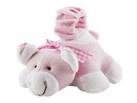 Rashti & Rashti Bottle Snugglers Feeding Time Helpers - Adorable Pinky Pig