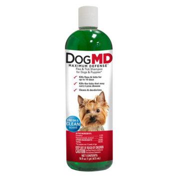 Dog MD Maximum Defense Flea & Tick Dog & Puppy Shampoo