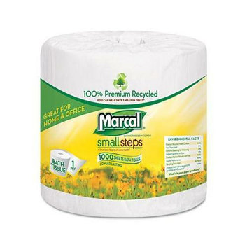 Marcal 100% Premium Recycled 1-ply Bath Tissue