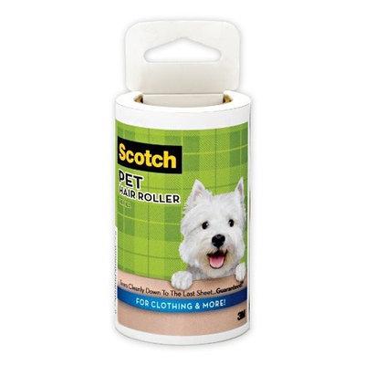 3M Scotch Pet Hair Roller Refill 839RF-70, 1-Count, 70-Sheet