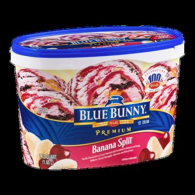 Blue Bunny Ice Cream Banana Split