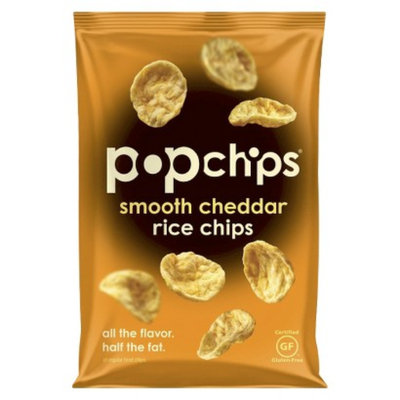 popchips Smooth Cheddar Rice Chips