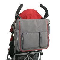 Jl Childress J.L. Childress Moxi Tote Stroller Diaper Bag, Grey/Red