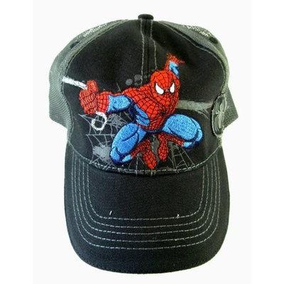 Marvel Spiderman Hat | Boys Baseball Cap - Black | Offical Licensed