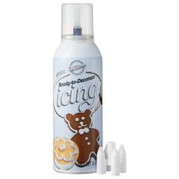 Wilton Ready-to-Decorate White Icing 6.4 oz